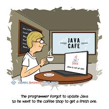 java cafe java programmer jokes coder cartoons and comics