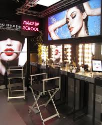 schools for makeup 17 best make up images on make up retail displays and