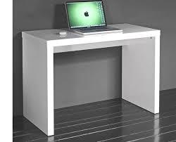 bureau blanc laqué petit bureau blanc laqu mobilier de bureau rennes lepolyglotte