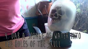 how to make a halloween skull from a plastic milk jug youtube