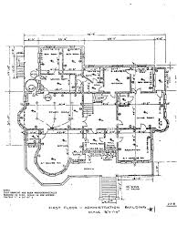 admin building floor plan administration