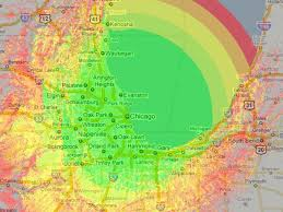 Tv Reception Map Wmaq U0027s Digital Tv Coverage Map Nbc Chicago