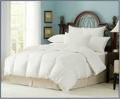 Down Comforter King Oversized King Down Comforter Clara Clark King Alternative Goose Down