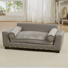 enchanted home pet bootsie scout dog sofa with cushion u0026 reviews