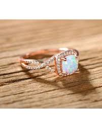 fire rings jewelry images New savings on peermont jewelry rose gold plated white fire opal