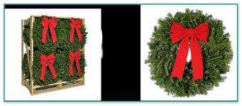 fresh wreaths wholesale