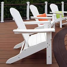 White Resin Outdoor Furniture by Patio Adirondack Patio Chair Trex Furniture Trex Patio Furniture