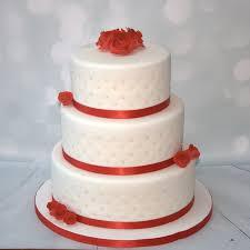 wedding cake roses roses pearls 3 tier cake