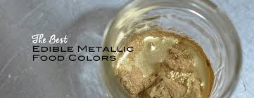 the best edible metallic food colors artisan cake company
