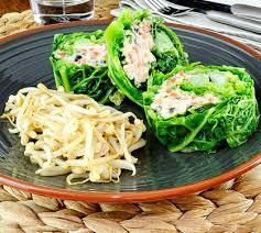 cuisiner le soja frais chou vert au coeur de crabe salade de soja frais envie de bien manger
