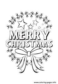 beautiful merry christmas kids coloring pages printable