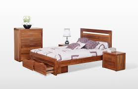 Modern Queen Bed Frame Furniture Modern Queen Size Bed Frame With Drawers With Appealing