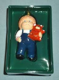 vintage 1983 cabbage patch ornament by vintagetoymemories