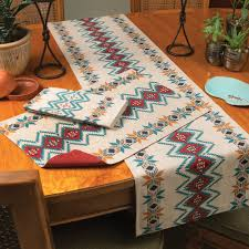 western table runners and placemats lone star western decor