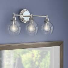mid century modern bathroom vanity lighting you u0027ll love wayfair