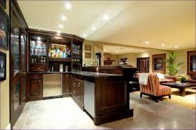 Kitchen Room Wonderful Bar Plans And Layouts Rustic Basement