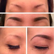pictures of eyebrow tattooing before and after tattoos eyebrow