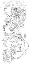free mermaid coloring pages ariel adults