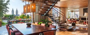 Eco Friendly Interior Design Architect Andrew Franz Turns Three Manhattan Apartments Turned