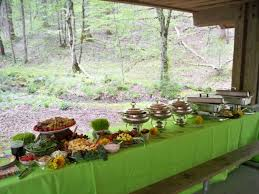 how to make a buffet table buffet receptions affordable functional and the pink