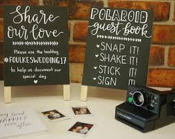 poloroid guest book polaroid guest book our social media hashtag a frame