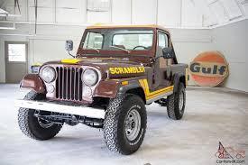 vintage jeep scrambler cj