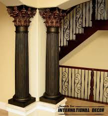 decorative interior columns decorative pillars for homes elegant