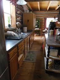 Log Home Kitchens Life At Providence Lodge Log Home Tour Part 2 Kitchen