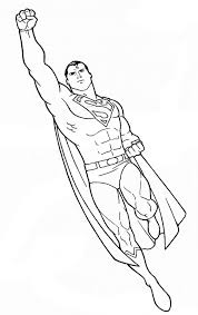 superman to color copy and paste into a word doc coloring pages