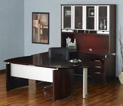 U Shaped Computer Desk With Hutch by Mayline Furniture Nt31 Mayline Napoli Right 96in U Shaped Desk