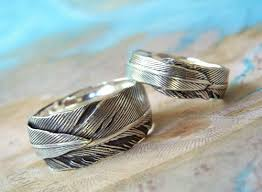Custom Wedding Rings by Custom Wedding Rings Handmade Silver Wedding Bands Alternative