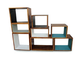 small cube storage 2 3 4 tier wooden bookcase shelving display