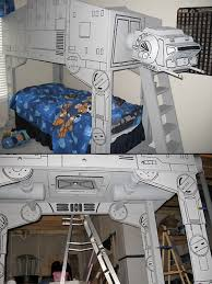 Star Wars ATAT Imperial Walker Bed Amazing Not A Detailed - Star wars bunk bed