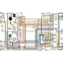 corvette color laminated wiring diagram 1953 1981