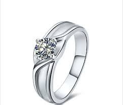 wedding ring model new models women wedding ring 925 sterling silver 1 ct