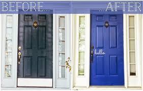 Exterior Door Kick Plate The Florkens Our Front Door Makeover