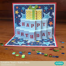 pop up birthday card with kathy lori whitlock