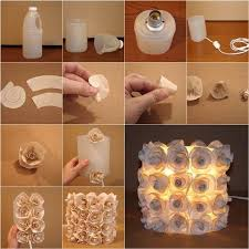 craft for home decor awesome diy plastic container rose l http www