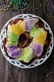 king cake for mardi gras mardi gras king cake the baker
