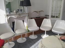 chaises tulipe impressionnant chaise tulipe knoll meilleures idées de conception