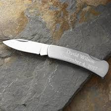 pocket knife engraving personalized stainless steel pocket knife