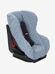 couverture siège auto bébé housse élastiquée pour siège auto 0 1 denim imprimé étoiles