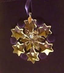 swarovski swarovski 2004 ornament snowflake
