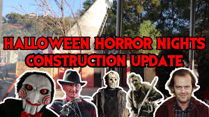 halloween horror nights 2017 rumors halloween horror nights 2017 construction update 8 12 2017 youtube
