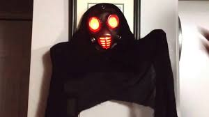 gemmy window wraith gas mask youtube