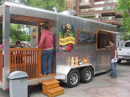Living On One Dollar Trailer by Best 25 Food Trailer Ideas On Pinterest Food Truck Design Food