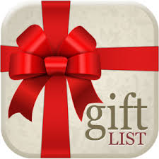 gift list announcing my new mobile app gift list organizer