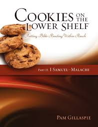 cookies on the lower shelf putting bible reading within reach