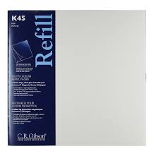 5x7 photo album refill pages k45 unimount magnetic sheets for p45 albums