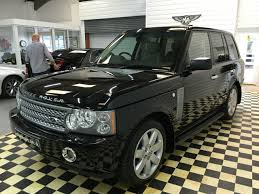black land rover range rover second hand land rover range rover 4 2 v8 supercharged vogue se